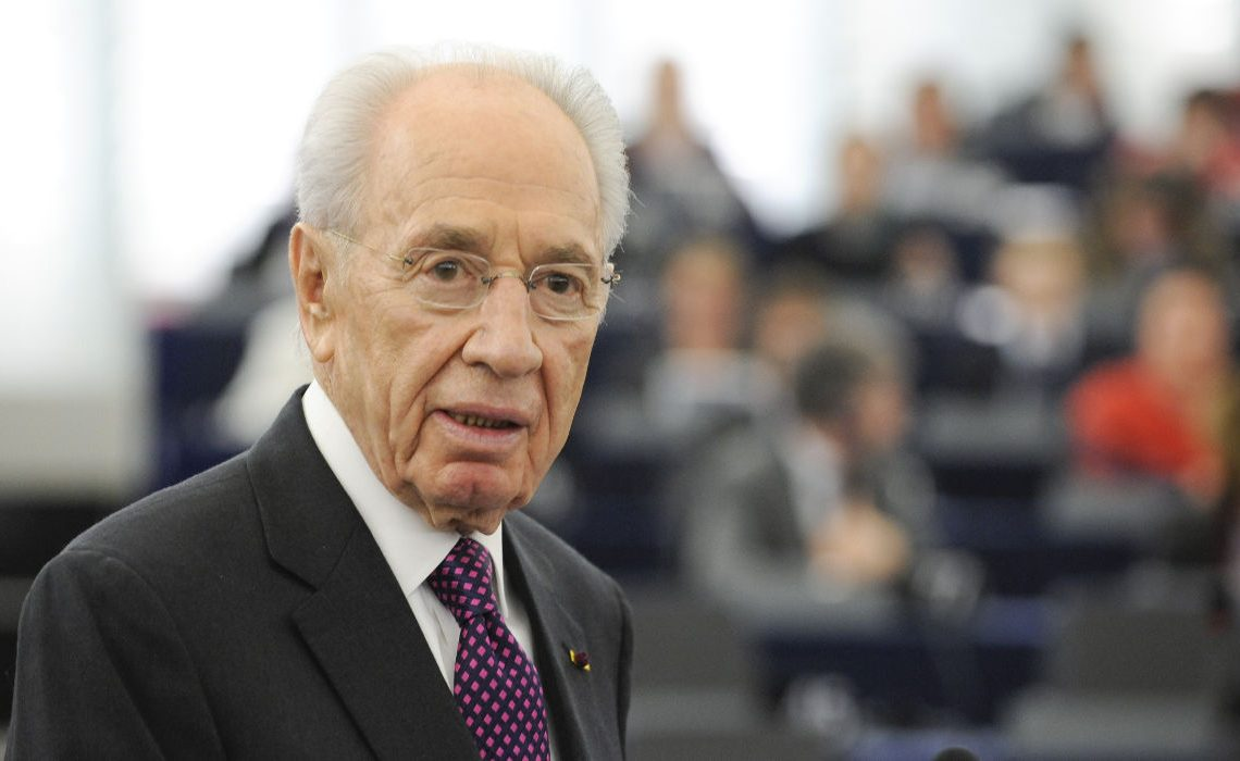 Official visit of the President of Israel to the European Parliament in Strasbourg Shimon PERES - President of Israel addresses the Parliamentary assembly
