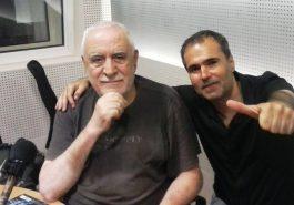 Ο Γιάννης Πετρίδης στο Στούντιο του «Καναλιού Ένα» με τον Δημήτρη Αντωνόπουλο