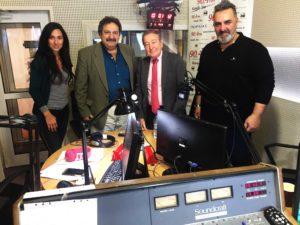 Στη φωτογραφία η Κωνσταντίνα Πετούση, ο Νίκος Παρασκευάς, οΓιάννης Τραμπακόπουλος και ο Θεόδωρος Ματθιουδάκης