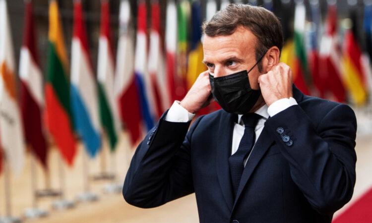 Διάγγελμα Μακρόν στον γαλλικό λαό για την επιδείνωση της υγειονομικής κατάστασης