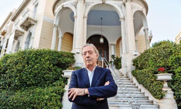 Ο Νίκος Σταμπολίδης πρώτος Γενικός Διευθυντής στο Μουσείο της Ακρόπολης