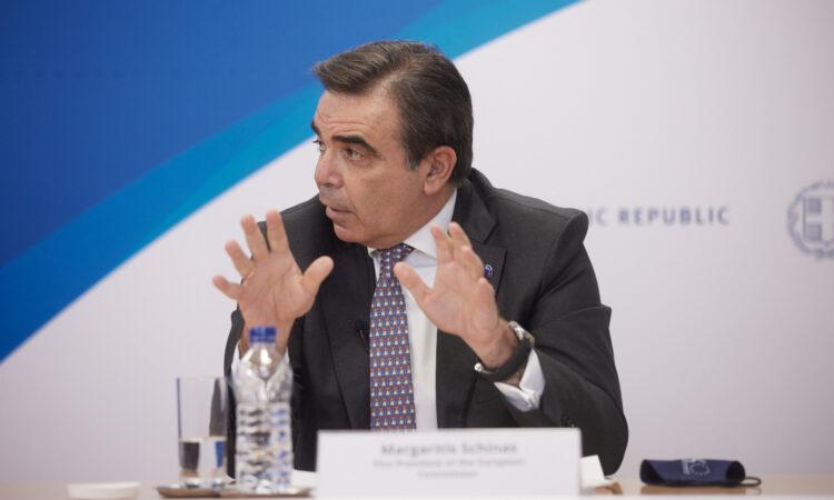 Μαργαρίτης Σχοινάς: Οι δημογραφικές προκλήσεις είναι σοβαρές και κοινές για όλες τις χώρες της ΕΕ
