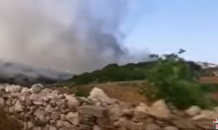 Ενισχύονται οι δυνάμεις στην πυρκαγιά της Πάρου