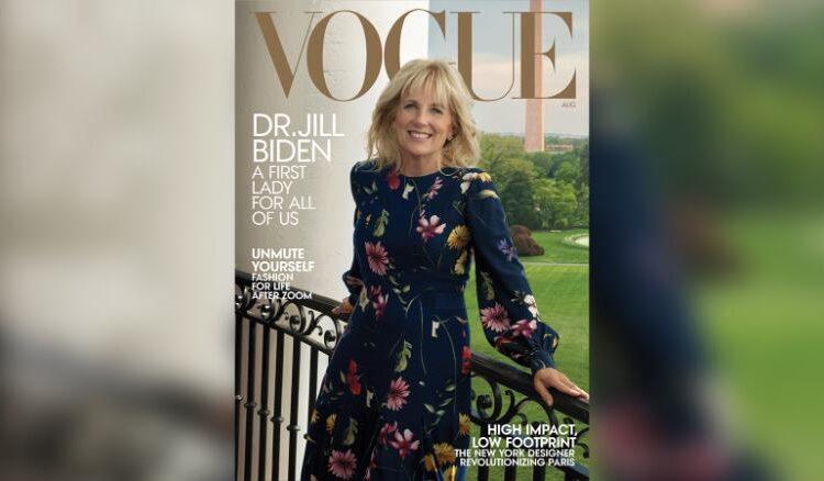Η Τζίλ Μπάιντεν στο νέο εξώφυλλο της Vogue