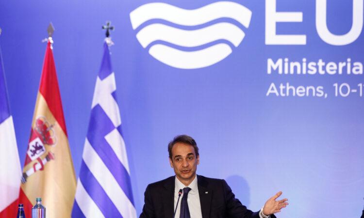 Μητσοτάκης-EuroMED7: Διάλογος για αποκλιμάκωση με σεβασμό του διεθνούς δικαίου από την Τουρκία