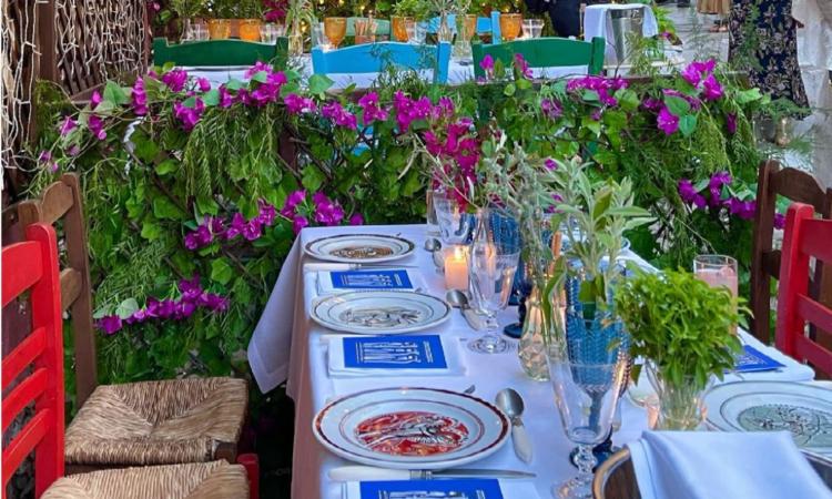 Τα σερβίτσια της Ελληνίδας δημιουργού που έκλεψαν την παράσταση στo δείπνο του Dior