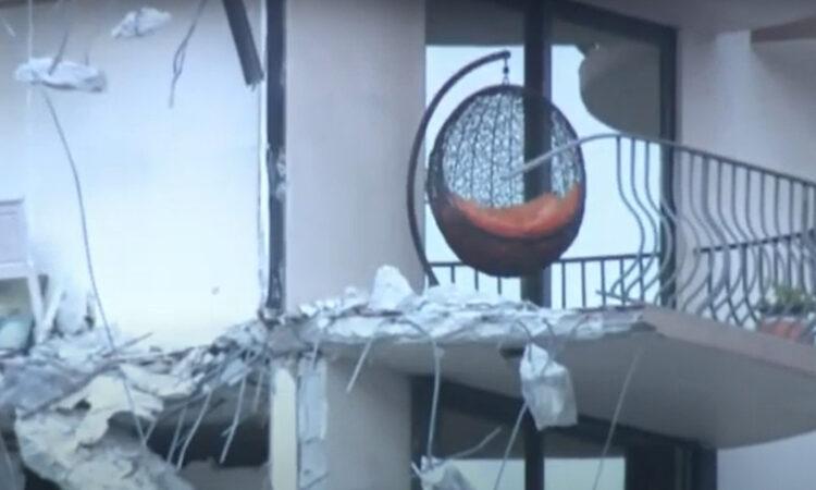 Ξαφνική κατάρρευση πολυώροφου κτιρίου στη νότια Φλόριντα