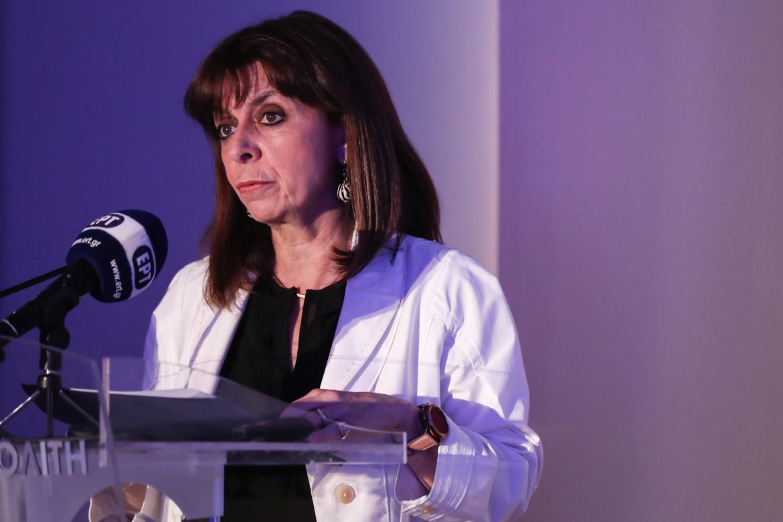 Κατερίνα Σακελλαροπούλου για την έμφυλη βία και τη γυναικοκτονία