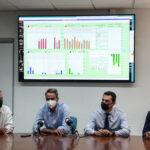 Τι έγινε στη σύσκεψη του πρωθυπουργού στο Εθνικό Κέντρο Ελέγχου Ενέργειας του ΑΔΜΗΕ