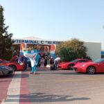 Στο λιμάνι του Πειραιά 30 λαμπερές Ferrari